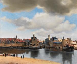 Vermeer - Gezicht op Delft