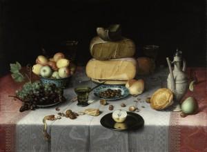 Floris Van Dijck Stilleven met kazen