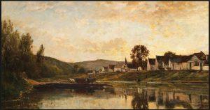 Daubignys schilderijen in de schemering