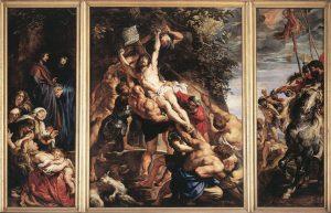 P.P. Rubens - De Kruisoprichting in de Onze Lieve Vrouwenkathedraal in Antwerpen